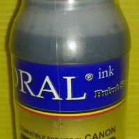Coral Tinta Botol 200 ml For Canon - Black