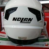 Helm Nolan N104 Voyage Metal White Obral 061 201