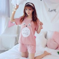 ForGirl2 baju PIYAMA wanita LENGAN PENDEK ALIKA 2 warna