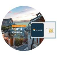 Sim Card South Korea 5GB/15GB/30GB (Kartu Perdana Korsel Simcard) VV