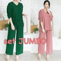 ForGirl2 baju SETELAN wanita jumbo ANDREA - konveksi tanah Abang