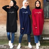 ForGirl2 baju wanita tunik muslim MAYBE 3 warna