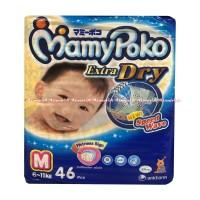 Popok Sekali Pakai -) Mamypoko Extra Dry Speed Wave M 46 Pcs Popok