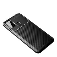 Case Samsung M31 Rugged Armor Silicone Carbon Soft Casing