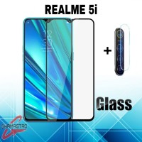 Tempered Glass Realme 5i Free Anti Gores Screen Camera Flaxible