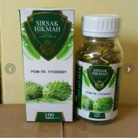 Kapsul Minyak Daun Sirsak obat kolesterol gula jantung kolesterol 100
