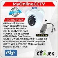 IP Camera CCTV Indoor EDGE Asli 2MP Onvif + POE Setara Hikvision