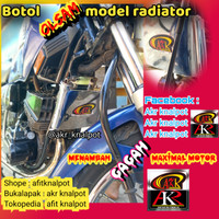 botol olsam oli samping model radiator rx king
