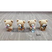 patung pajangan beruang musik miniatur bear 4
