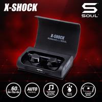[PO SPECIAL-PRICE] SOUL X-SHOCK True Wireless Earphone Headset - Hitam