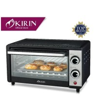 Oven Microwave masak Kirin 10L stainless steel 400 watt murah original