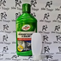 Turtle Wax Headlight Cleaner and Sealant ( kemasan REPACK 30 mL )