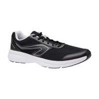 Kalenji Sepatu Lari Pria Run Cushion Men's Running Shoes - Hitam