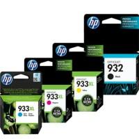 PAKETAN TINTA HP 932 BLACK DAN 933XL COLOR (C.Y.M) ORIGINAL