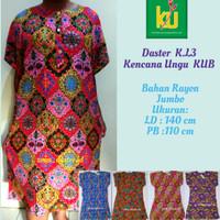 Daster Kencana Ungu Jumbo L3 Label Biru (100% Original Kencana ungu)