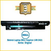 Baterai Laptop DELL Inspiron 14R-3421 Series Original