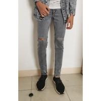 skinny jeans pria/ripped jeans pria/celana jeans pria/b0630 - 28