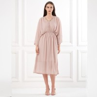 ATELIER MODE Cocktail Dress Kimono Sleeves Loose Jenna Dress Wanita