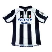 Jersey Bola RETRO KLASiK JUVENTUS HOME CENTENARY 97/98 Baju 1997 1998