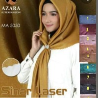 Jilbab / Hijab / Kerudung terbaru segiempat glamour sinar nur by azara