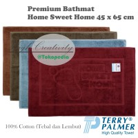 Keset Lantai Handuk Terry Palmer Premium HSH 45x65cm - Bathmat / Floor