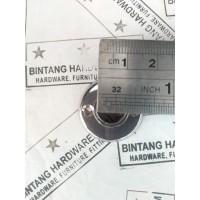 Dop Pipa Bulat 3/8 inch Bahan Kuningan Bracket Topi 9mm DP001A /pcs