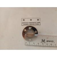 Dop Pipa Bulat 3/4 inch Bahan Kuningan Bracket Topi 19mm DP001D /pcs