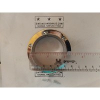 Dop Pipa Bulat 2 inch Bahan Kuningan Bracket Topi 50mm DP001F /pcs