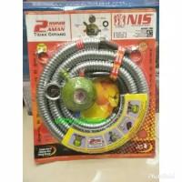 Selang anti tikus paket regulator 2kunci NIS N2-0707