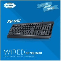 KEYBOARD USB NISUTA KB-050