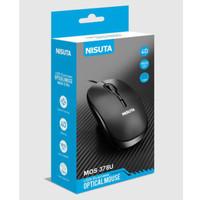 MOUSE USB NISUTA MOS-378U