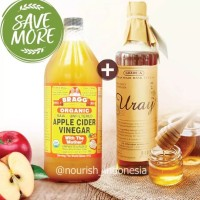 Madu Uray 640 ml Bragg Apple Cider Vinegar 946 ml