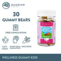 Wellness Gummy Kids Multivitamins Isi 30 Gummy Bears