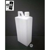 BOTOL 1 LITER 1000 ML HDPE NATURAL