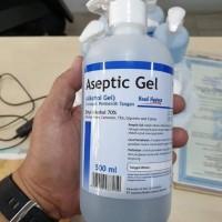Aseptic Gel Onemed Hand Sanitizer 500ml Pump