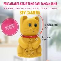 Spy Camera cctv PTZ Cam Maneki Neko Kucing Mata kamera
