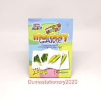 Smart Card Sidu Creative Memory Game Sayuran