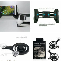 PAKET JOYSTICK GAMEPAD + ANALOG MOBILE MOBA ML MOBILE LEGEND