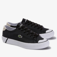 SEPATU KASUAL LACOSTE Men's Gripshot Leather and Suede Sneakers PRIA