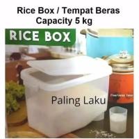 Tempat beras 5kg/Rice Box RB-5kg Asvita