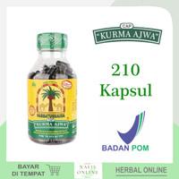 Habbatussauda Cap Kurma Ajwa 210 Kps - Kapsul Bubuk Jintan Hitam