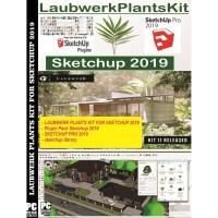 LAUBWERK PLANTS KIT FOR SKETCHUP 2019 bonus sketchup 2019 dan plugin