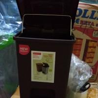 Tempat Sampah Injak Maspion / Hako Pedal Pail 6 Liter