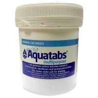 AQUATABS MULTIPURPOSE 1,67 Tablet Desinfektan Effervesence Per Tube