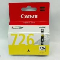 Tinta Printer Canon 726 Yellow Original Garansi Resmi