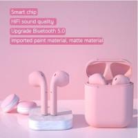 INPODS I12 AIRPODS MACARON WIRELESS HEADSET EARPHONE TERBARU BT V5.0