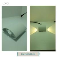 Lampu Dinding Outdoor LDO01 (85x80x35 mm)