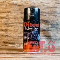 Hi Temp Black Hitam Diton Tahan Panas Cat Pylox Pilox Semprot 300 cc