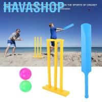 Havashop Kids Cricket Set Gift Sports Interactive Board Game Play