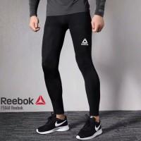 HOT LEGGING PANJANG REEBOK celana baselayer longpants manset training